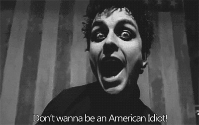 amercian, american idiot, cool, cute, green day