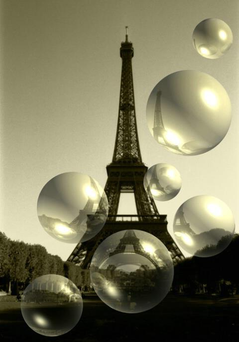 <3, alt3, amazing, awesome, balloons, beautiful, black and white, cool, cute, eiffel tower, paris, photo, photography, sky, wow