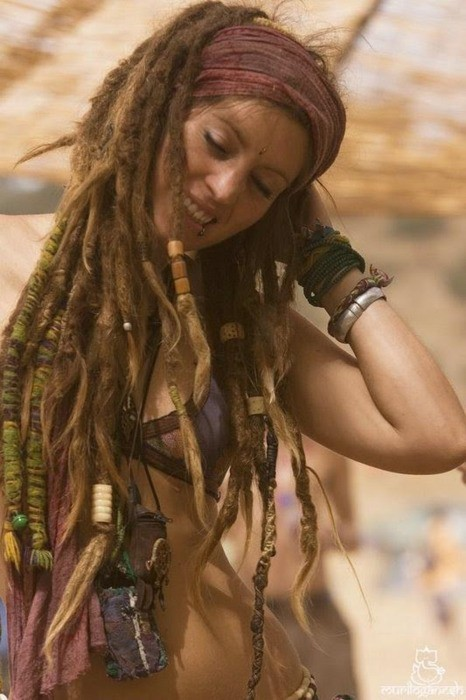 awesome, boho, dreadlocks, dreads, hair