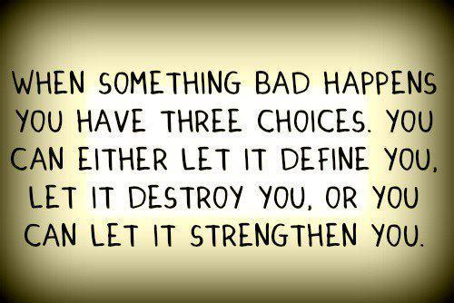 bad things, define, destroy, hurt, quote, strong, text, words
