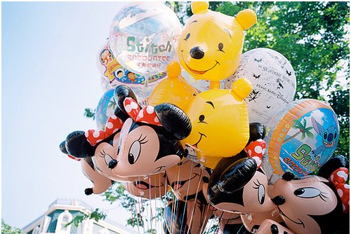 balloon, balloons, cute, disney, disney world