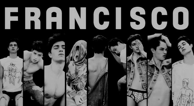 beautiful, black and white, francisco, francisco lachowski, sexy