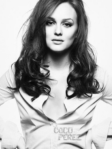 beautiful, black and white, leighton meester, perfect, sexy