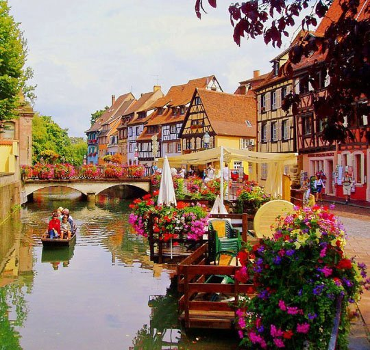 Beautiful colmar at france painting image 245069 on Colmar beauty and the beast