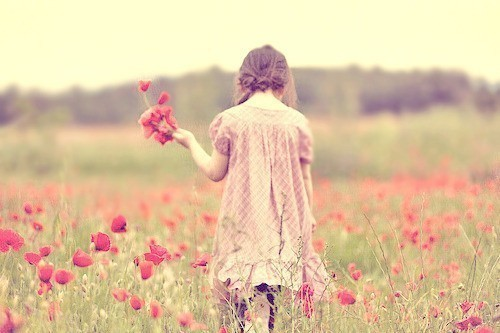 beautiful, cute, dress, fashion, flower, flowers, girl, girly, nature, photography, pretty, red, style, summer, sweet