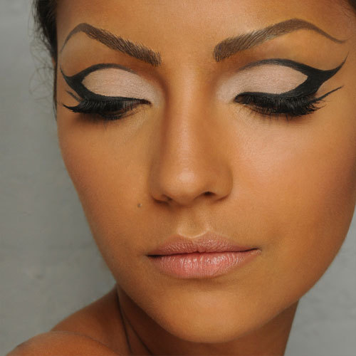 beautiful, eyeliner, girl, lashes, lips