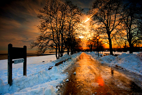 Beautiful landscape nature snow winter pictures Beautiful snowfall pictures