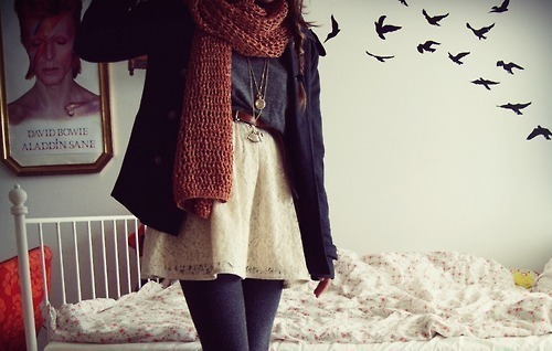beauty, bed, birds, clothes, cute