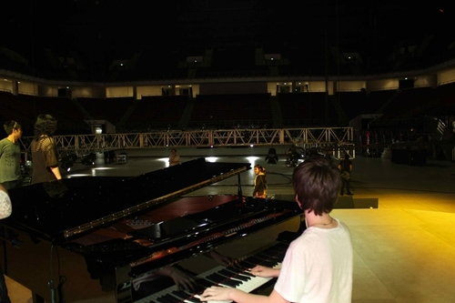 behind, greyson chance, piano, the