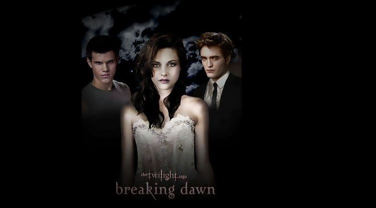 bella, breaking dawn, edwar, jacob, twilitght