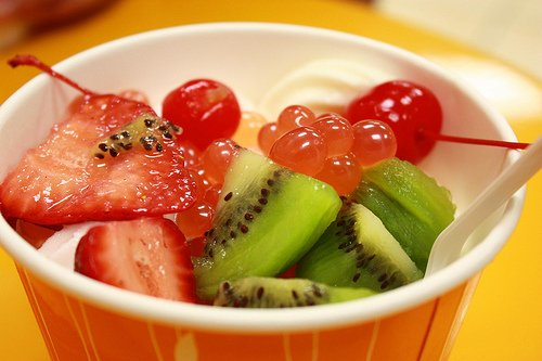 berries, cherry, cup, delicious, dessert