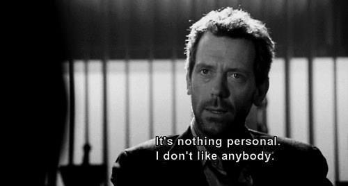 dr. house. on Pinterest  House Md, House Md Quotes and Dr House Quotes