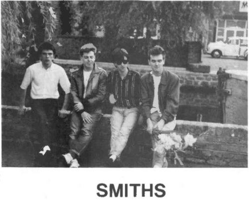 black and white, guys, hot, smiths, the smiths