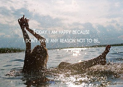 blonde, blue, brunette, girl, happy, quote, sea, skinny, sky, summer, sun, tan, text, water