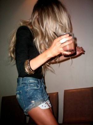blonde, drink, hair, love, party
