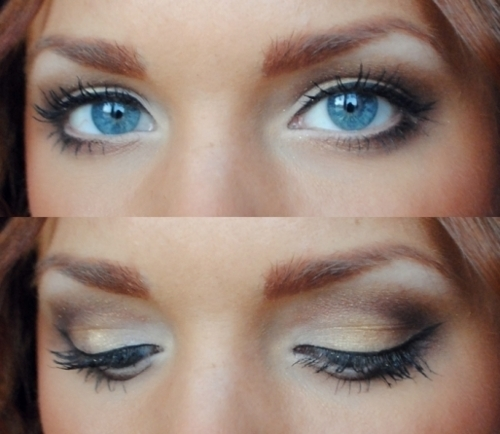 blue eyes, brown, girl, gorgeous, make up, make-up, photography, pretty