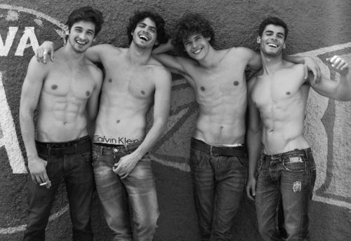 boy, boys, cute, friends, friendship, guy, guys, handsome, hot, jeans, man, men, model, models, muscle, sexy, underwear