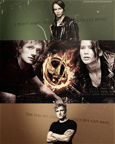 boy with the bread, jennifer lawrence, josh hutcherson, katniss everdeen, peeta mellark