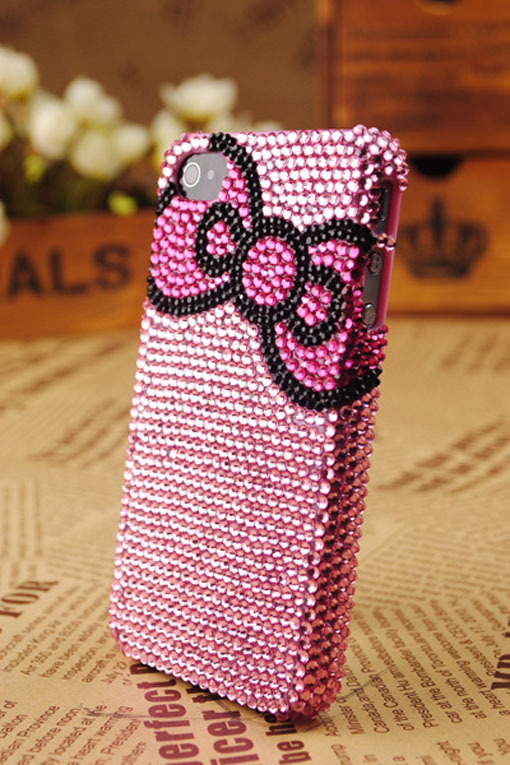 case, crystals, cute, girly, hello kitty