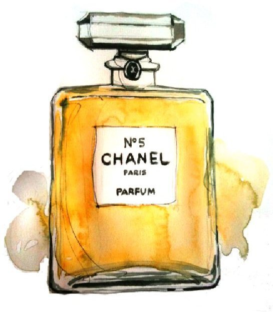 chanel, drawing, parfum
