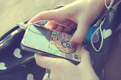 color, ipod, music