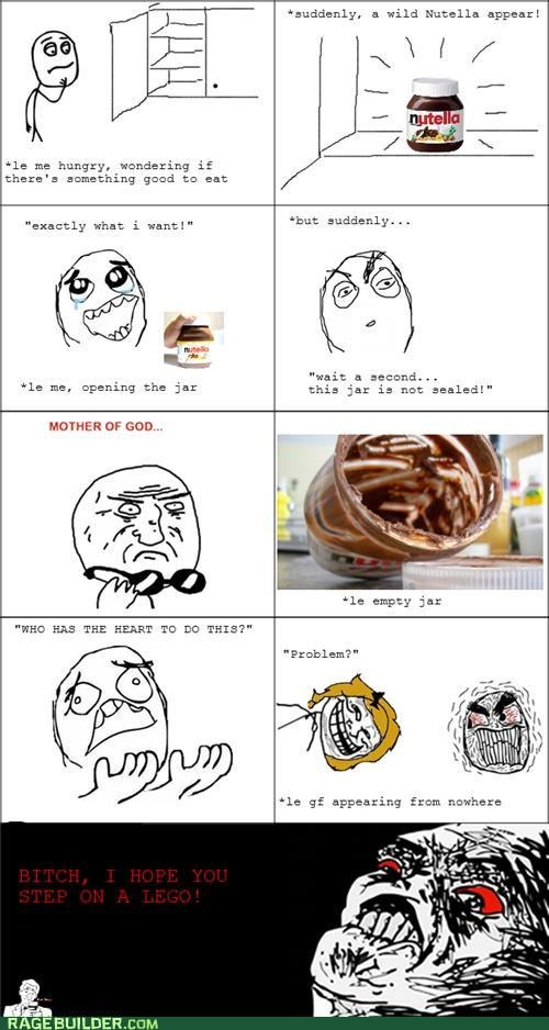 comics, funny, lol, rage, rage comics