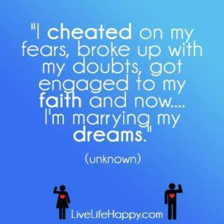 Positive Images  Quotes on Dream  Faith  Fear  Positive  Quote   Inspiring Picture On Favim Com
