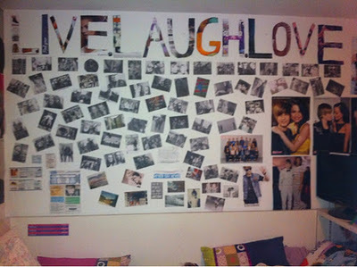 inspiration, laugh, live, love, wall