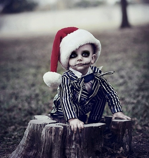 adorable, child, christmas, cute kid, jack skellington