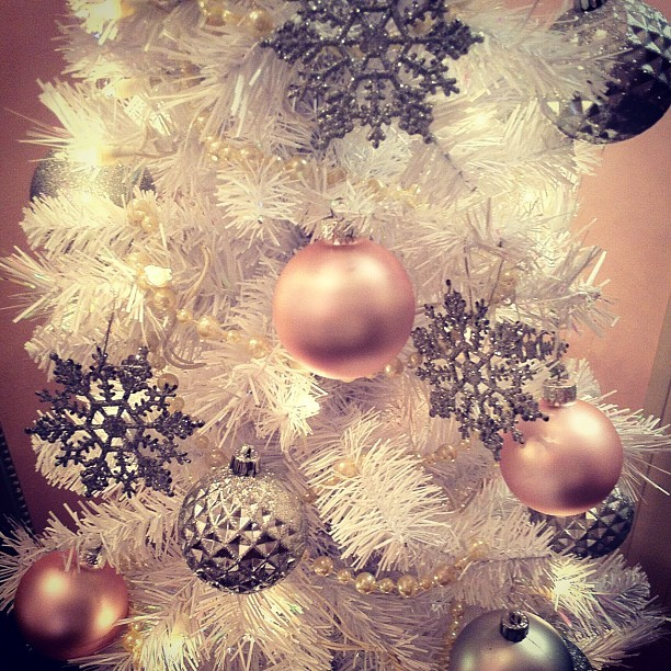 adorable, christmas, christmas tree, cute, pink