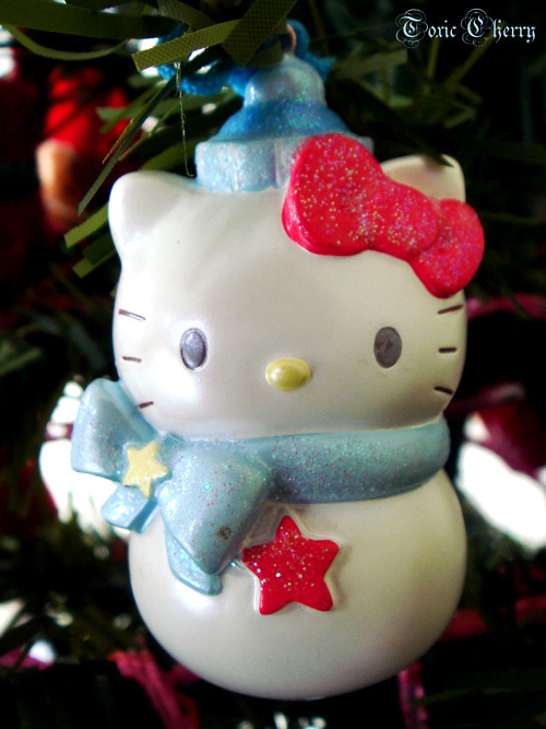 adorable, christmas, cute, decoration, hello kitty