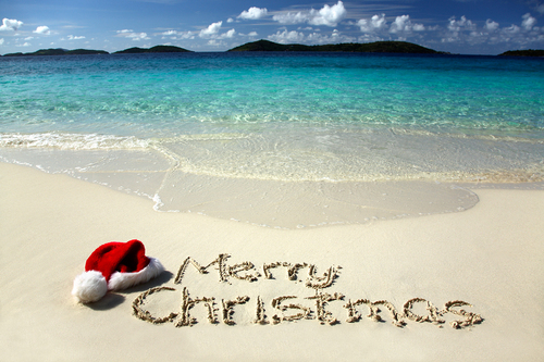 amazing, australian summere, beach, cute, lovely, merry christmas, merry christnas, message, santa claus, summer, vacations, wonderful, xmas