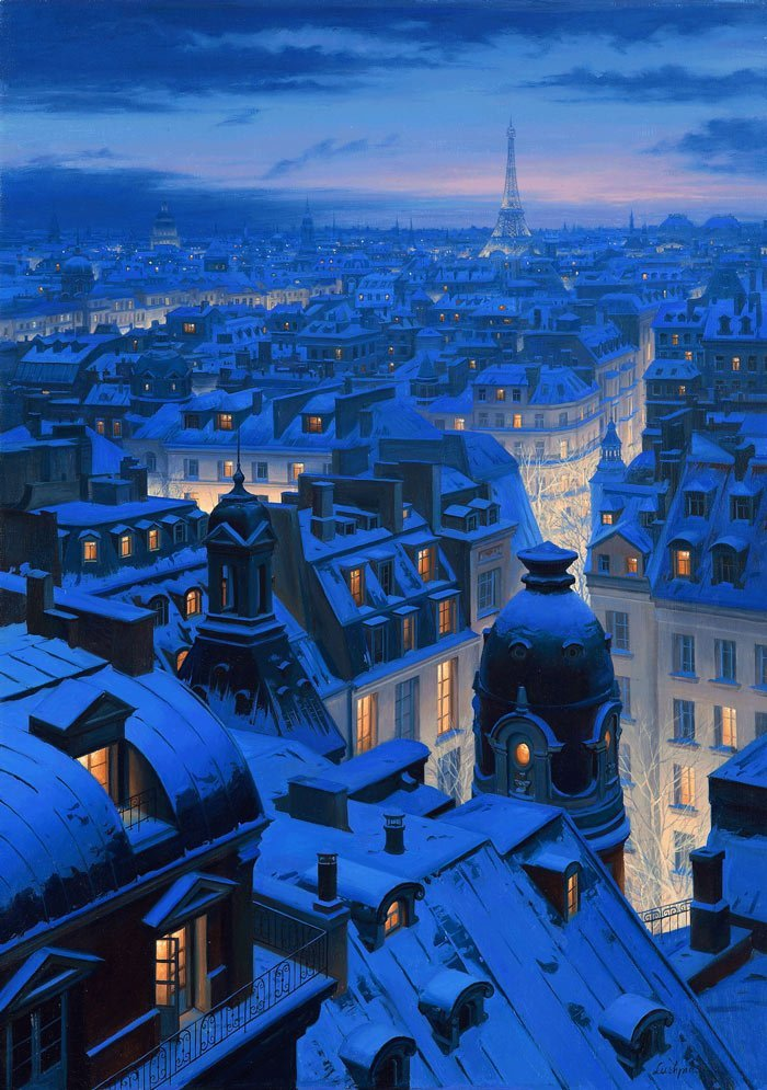 atmosphere, balcony, christmas, city, climate