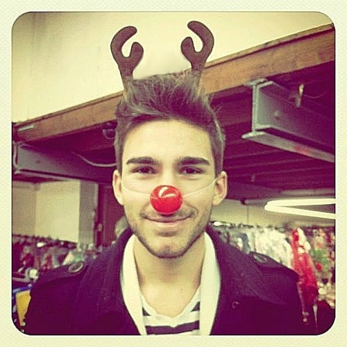 aww, beautiful, christmas, cute, fancy, france, frenchy, magic, noel, red, red nose, reindeer, reindeer of santa claus, santa claus, smile