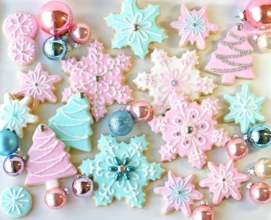 bakery, christmas, cookies, cute, glaze