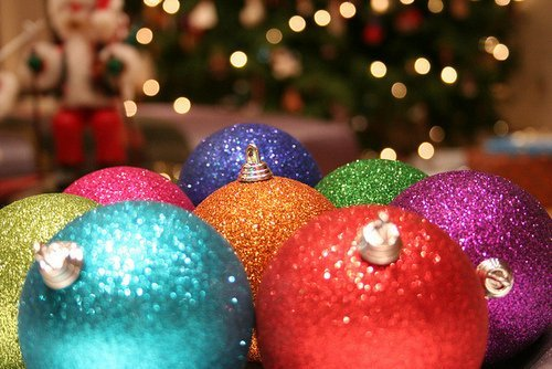 balls, christmas, colourfull, colours