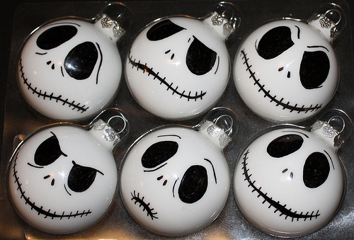 balls, christmas, cute, cutest, halloween, jack, lovely, nightmare before christmas, skull, tim burton