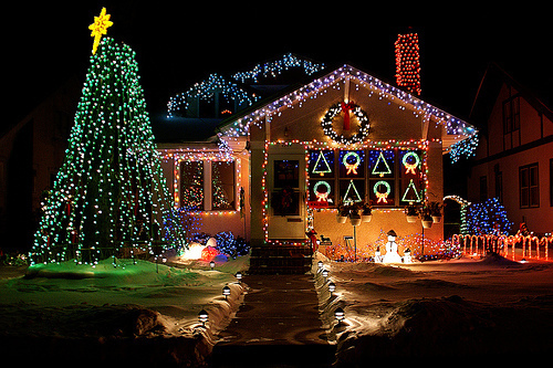 beautiful, christmas, cute, decoration, lights
