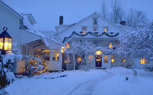 beautiful, christmas, december, house, photography