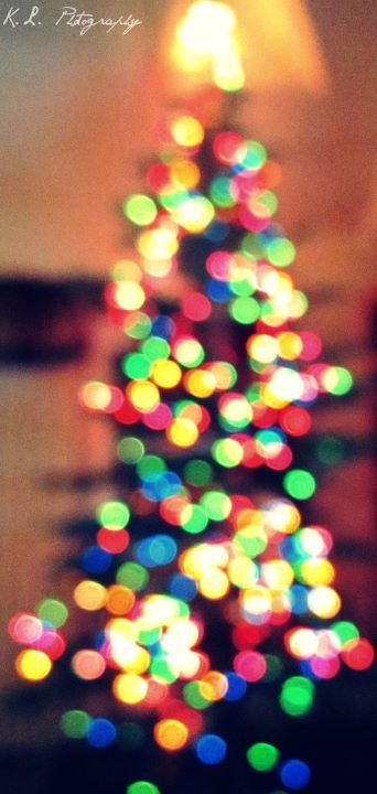 bokeh, christmas, christmas lights, christmas tree, christmas tree lights, lights, photography, pretty