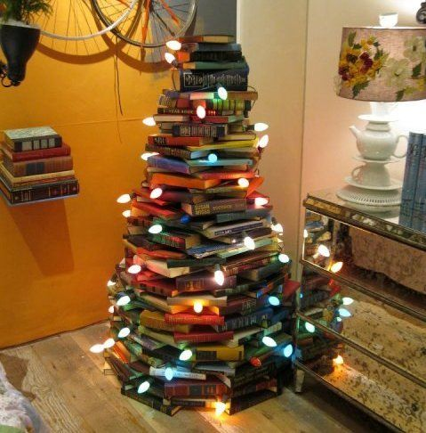 book, books, cheer, christmas, christmas lights