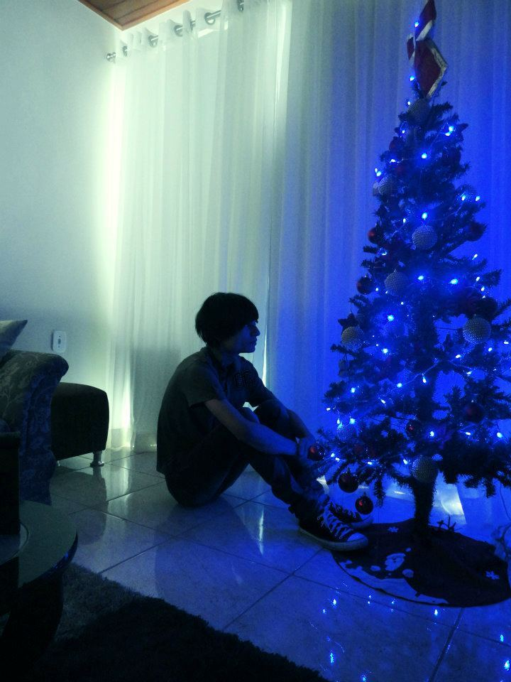 Lonely Christmas.Boy Christmas Guy Lonely Boy Merry Christmas Image