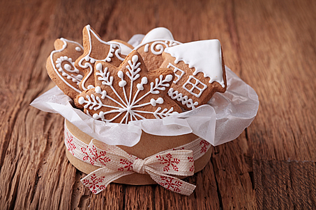 cake, christmas, decoration, food, gift, sweet