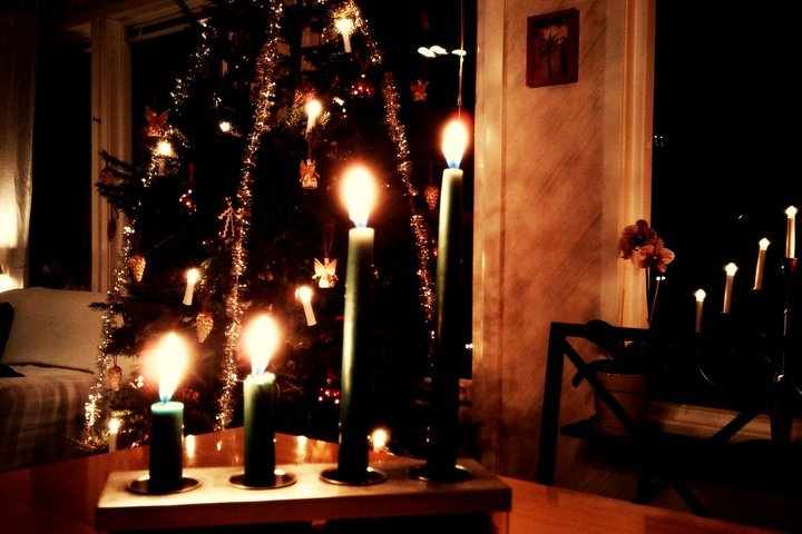 calm, candles, christmas, cosy, cozy