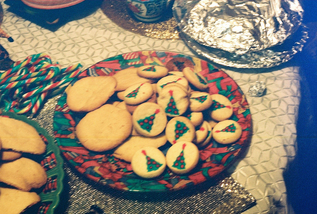 christmas, christmas cookies , christmas trees, cookies, food