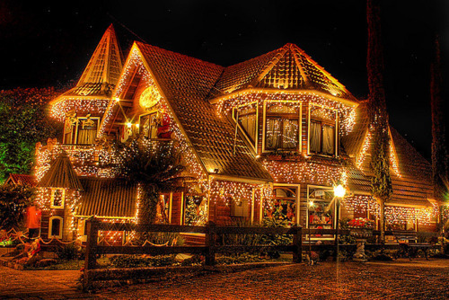 christmas, christmas decor, lights, luxury, new year