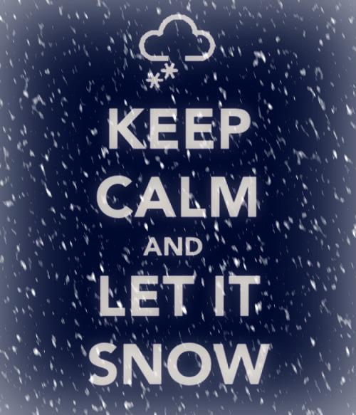 christmas, christmas time, december, keep, keep calm, let it, let it snow, snow, snowflake, snowflakes, winter