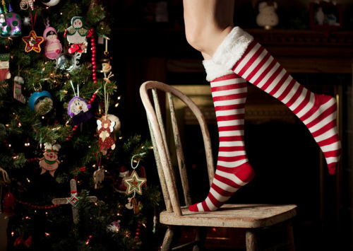 christmas, christmas tree, socks