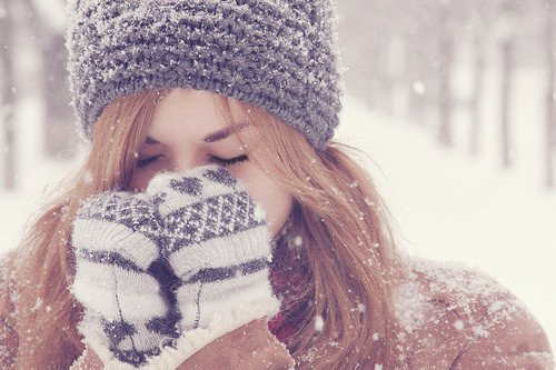 christmas, cold, girl, head, lash, new, snow, winter, year