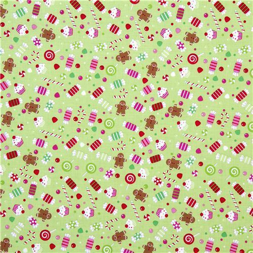 christmas fabric, cute fabric, japanese fabric